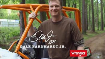 c8b35664 ... Wrangler U-Shaped Jeans TV Spot Featuring Dale Earnhardt, Jr. -  Thumbnail 3 ...