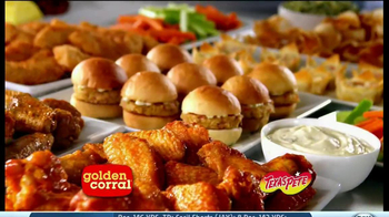 Golden Corral TV Spot, 'Wing and Appetizer Bar' - Thumbnail 1