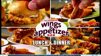 Golden Corral TV Spot, 'Wing and Appetizer Bar' - Thumbnail 3