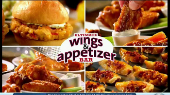 Golden Corral TV Spot, 'Wing and Appetizer Bar' - Thumbnail 9