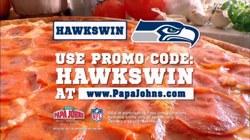 Papa John's TV Spot, 'Seahawks Win'