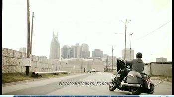 2014 Victory Cross Country Motorcycles TV Spot, 'Ride of Your Life'