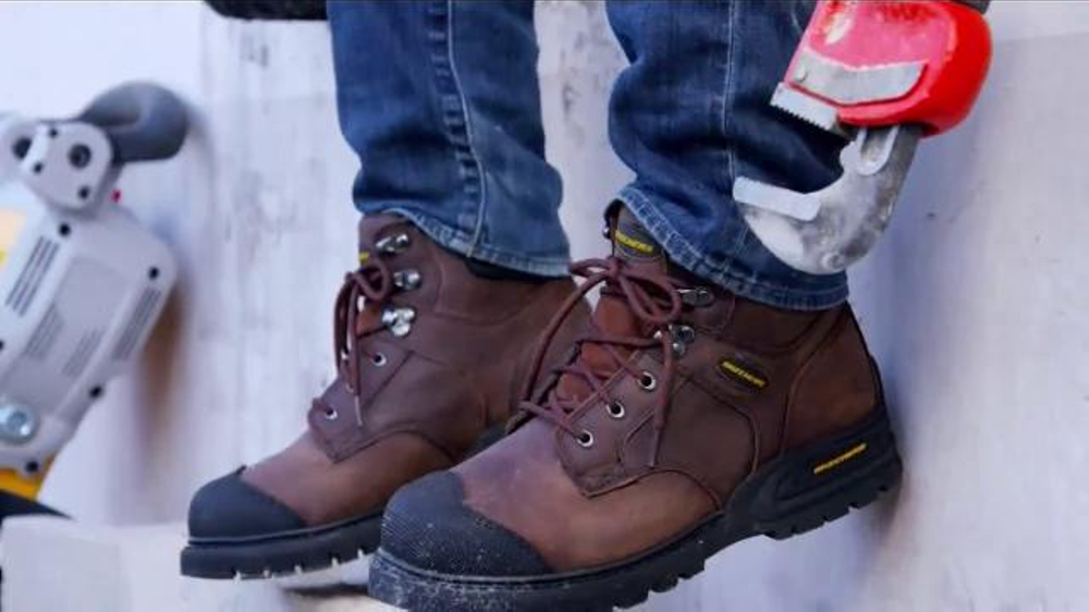 Skechers Work Footwear Tv Commercial Safety Toe Work