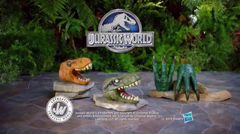Jurassic World Chomping Jaws and Raptor Claws TV Spot, 'Jaws and Claws' - 615 commercial airings