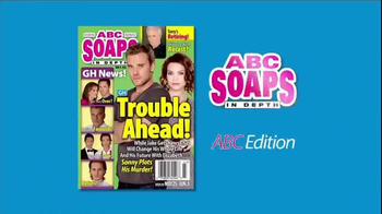 ABC Soaps In Depth Magazine - August 5, 2013 - Laura Wright and Roger Howarth