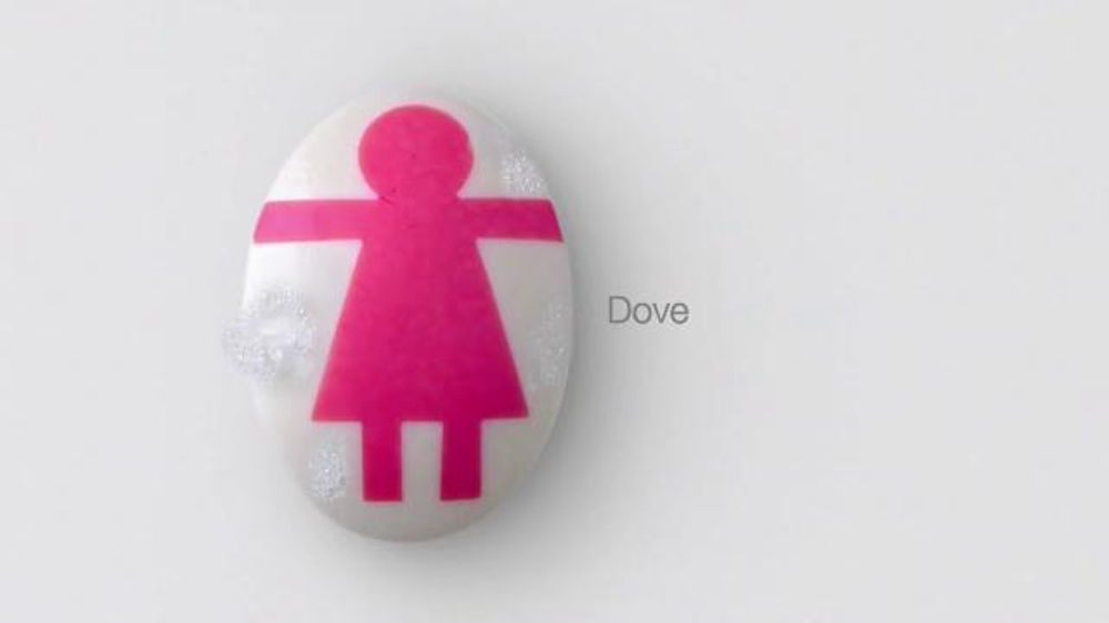 Dove Soap TV Commercial, 'Pink Test Paper'