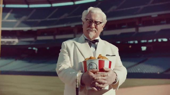 KFC TV Spot, 'Baseball' Featuring Darrell Hammond
