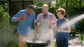 Alka-Seltzer Heartburn Relief Chews TV Spot, 'Fireman at the Grill'