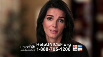 UNICEF/TAP Project TV Spot, \'Change\' Featuring Angie Harmon