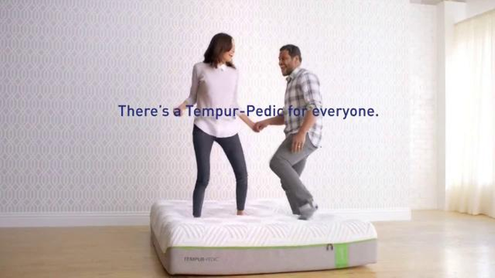 tempurpedic tv commercial a tempurpedic bed for ispottv