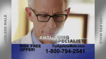 Ageless Male TV Spot, 'Testosterone Reduction'