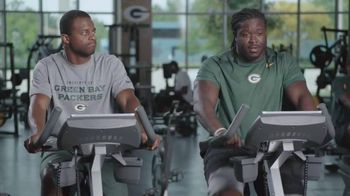 NFL Fantasy Football TV Spot, 'Gym' Featuring Randall Cobb, Eddie Lacy