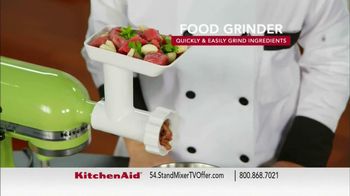 Kitchen Aid Stand Mixer TV Spot