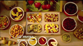 Graze Food Delivery TV Spot First Box Free