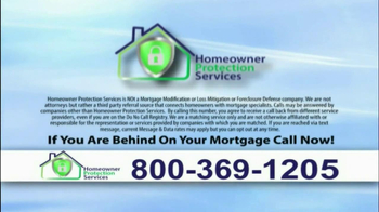 Homeowner Protection Services TV Spot, \'Behind on Your Mortgage\'