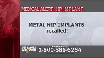 Dyer, Garofalo, Mann & Schultz TV Spot, 'Hip Implant' - Thumbnail 2