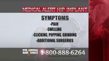 Dyer, Garofalo, Mann & Schultz TV Spot, 'Hip Implant' - Thumbnail 4