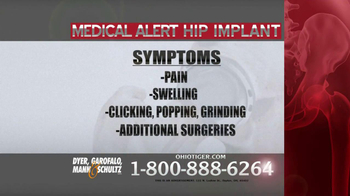 Dyer, Garofalo, Mann & Schultz TV Spot, 'Hip Implant' - Thumbnail 5