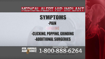 Dyer, Garofalo, Mann & Schultz TV Spot, 'Hip Implant' - Thumbnail 6