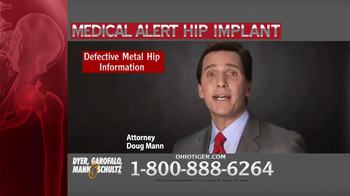 Dyer, Garofalo, Mann & Schultz TV Spot, 'Hip Implant' - Thumbnail 7