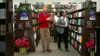 Barnes & Noble TV Spot, 'Holiday Gift Ideas' Featuring Jack McBrayer - Thumbnail 3