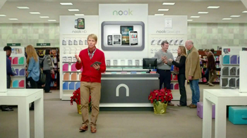Barnes & Noble TV Spot, 'Holiday Gift Ideas' Featuring Jack McBrayer - Thumbnail 5
