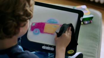 Crayola Dry-Erase Light-Up Board TV Spot - Thumbnail 2
