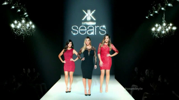 Sears TV Spot Featuring Kim, Khloe and Kourtney Kardashian - 541 commercial airings