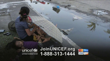 UNICEF TV Spot, 'Typhoon in Philippines'