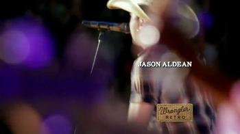 Wrangler Retro TV Spot, 'Long Live Cowboys' Featuring Jason Aldean - Thumbnail 2