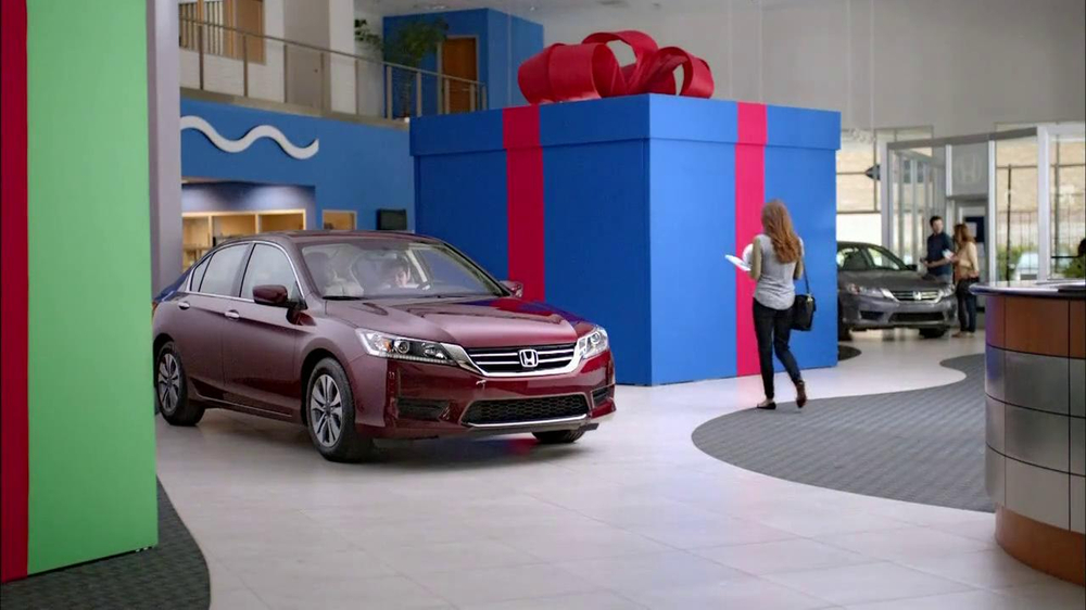 2014 Honda Accord Lx >> Honda Happy Honda Days: Accord TV Commercial, 'Cue the Bolton' Ft. Michael Bolton - iSpot.tv