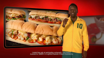 Subway Sriracha Chicken Melt TV Spot Feat. Michael Phelps, Pele - Thumbnail 5