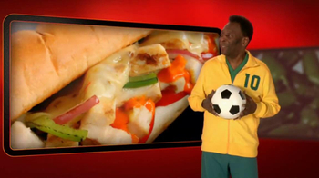 Subway Sriracha Chicken Melt TV Spot Feat. Michael Phelps, Pele - Thumbnail 9