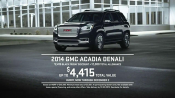 Gmc Black Friday Sales Event Tv Commercial Sleep Ispot Tv