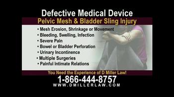 Pulaski Law Firm >> D. Miller & Associates TV Commercial, 'Pelvic Mesh ...