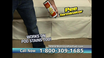 Bullseye Pee Pads TV Spot, 'No Mess' - Thumbnail 10