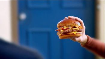 Wendy's Bacon Portabella Melt on Brioche TV Spot, 'Peep Hole' - 2359 commercial airings