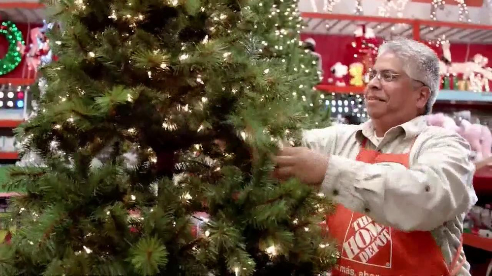 the home depot tv commercial holiday decorations ispottv - Home Depot Holiday