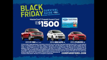 Black Friday Survival Guide TV Spot, 'Holiday Chaos' Featuring Mike Rowe - 333 commercial airings