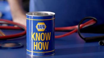 NAPA The Legend Batteries TV Spot, 'Know How: Hook Me Up'