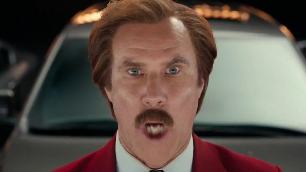 Will Ferrell Rental Car