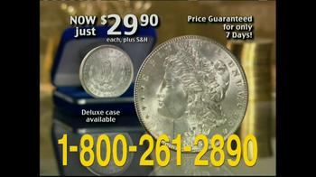 National Collector's Mint TV Spot, 'Morgan Silver Dollar' - Thumbnail 7