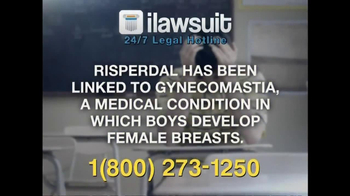 iLawsuit Legal Hotline TV Spot, 'Risperdal' - Thumbnail 5