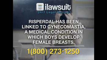 iLawsuit Legal Hotline TV Spot, 'Risperdal' - Thumbnail 6