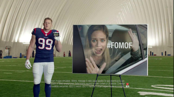 Verizon NFL Mobile TV Spot, '#FOMOF: Road Trip' Feat. JJ Watt - Thumbnail 9