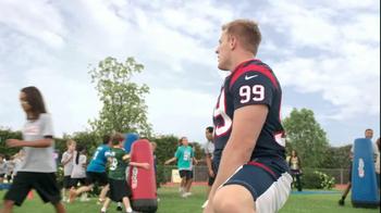 NFL Play 60 TV Spot, 'School Play' Featuring J.J. Watt - Thumbnail 10