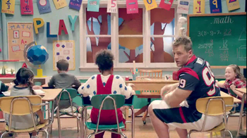 NFL Play 60 TV Spot, 'School Play' Featuring J.J. Watt