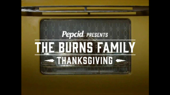 Pepcid Complete TV Spot, \'Burns Family Thanksgiving: Recipe for Heartburn?\'