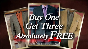 Buy One, Get Three Free: Suits and Sports Coats thumbnail