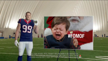 Verizon NFL Mobile TV Spot, '#FOMOF: Santa Claus' - Thumbnail 9